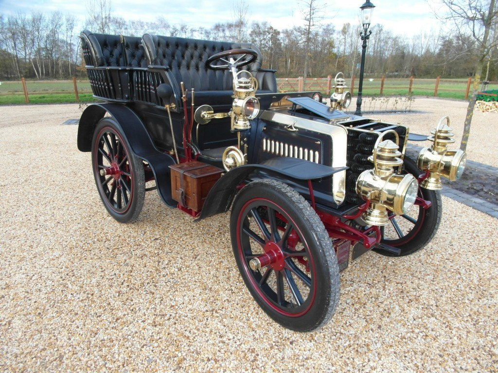 Panhard et Levassor, 4 cyl Rear Entrance Tonneau, 1900, RHD,    SOLD