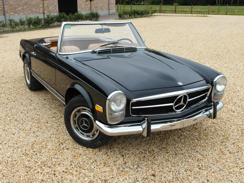 mercedes benz 280 sl pagode roadster 5 speed manual 1968. Black Bedroom Furniture Sets. Home Design Ideas