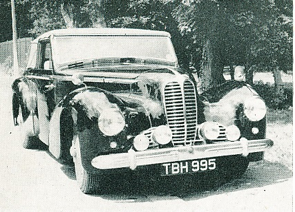 Delahaye 135M, 3 carburettors, 3 pos. DHC by Selborne, 1951      SOLD