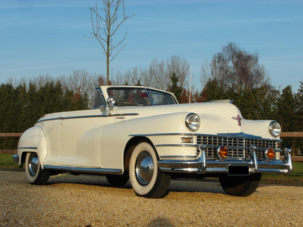 Chrysler     SOLD      New Yorker, Highlander convertible 1948 lhd