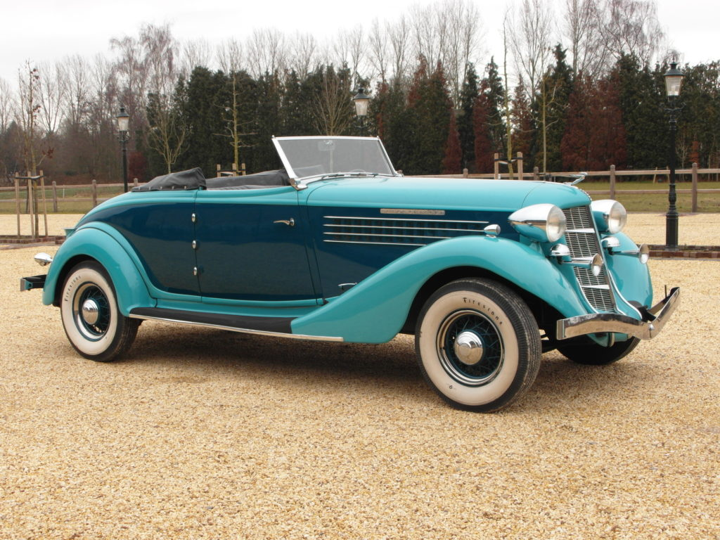 Auburn 851 Super Charged, convertible coupé, 1935 LHD,    POA
