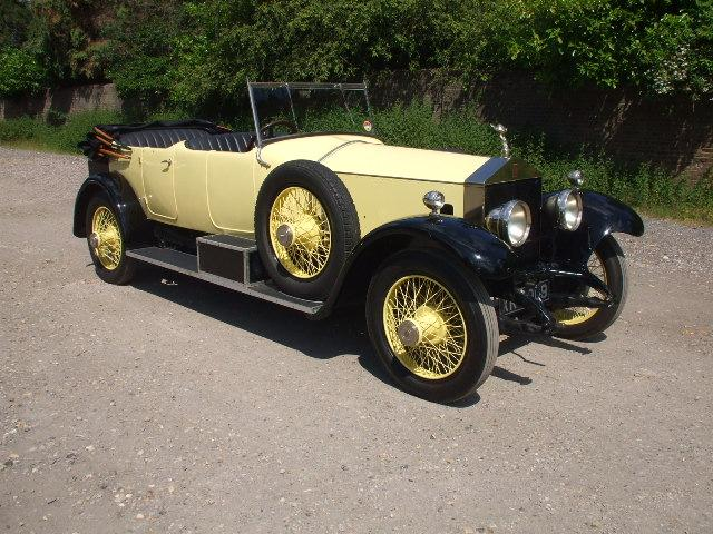 Rolls-Royce Silver Ghost Open Tourer by Barker 1924 rhd, POA