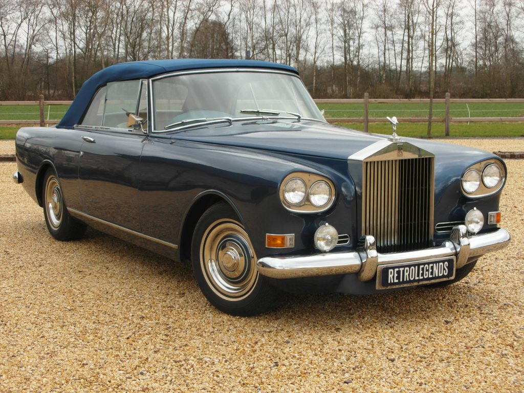 Rolls-Royce    SOLD     Silver Cloud III dhc convertible automatic lhd 1965