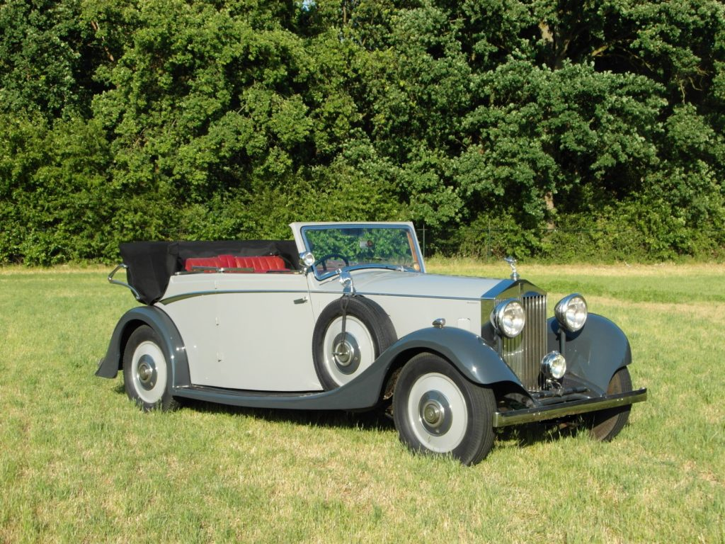 Rolls-Royce 20/25 DHC by Windovers,  rhd 1934,     Price on request