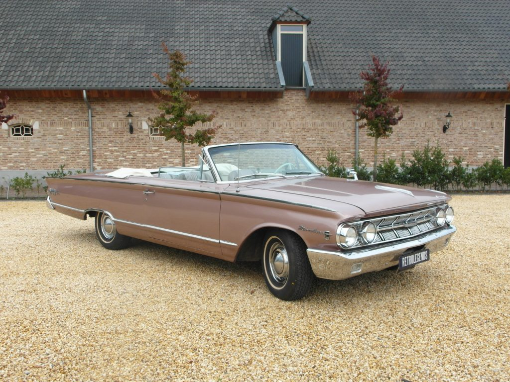 Mercury     SOLD     Monterey  Custom S55 convertible, 1963,  lhd, automatic