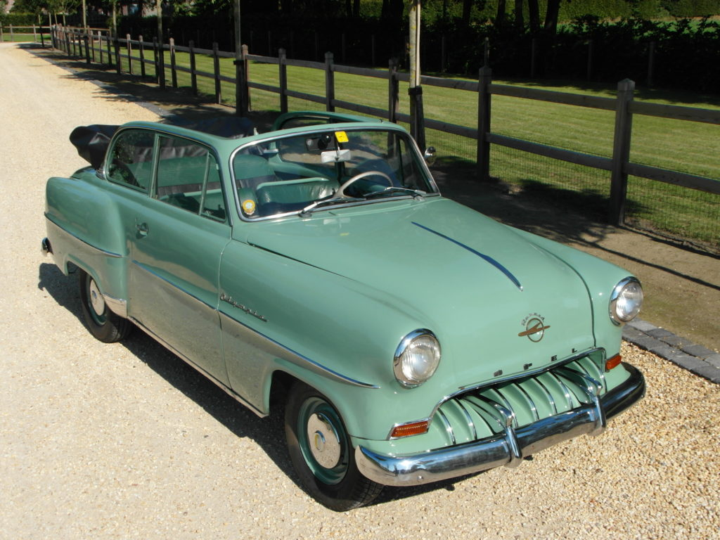 Opel     SOLD     Olympia limousine cabriolet, lhd, 1953