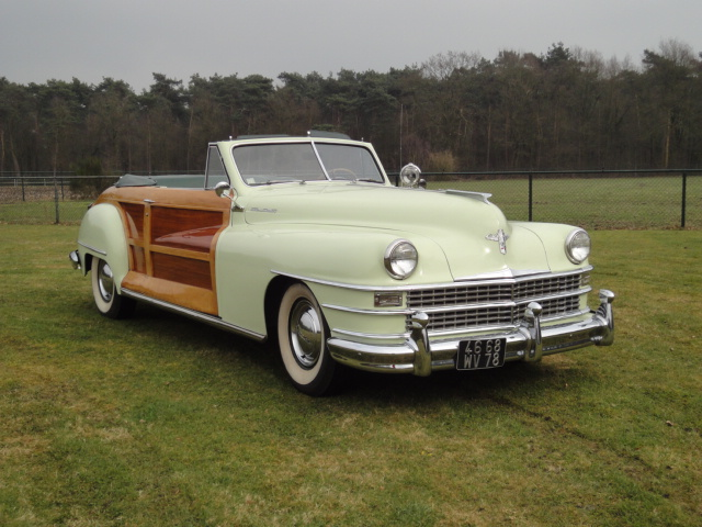 Chrysler New Yorker Town and Country convertible lhd 1948