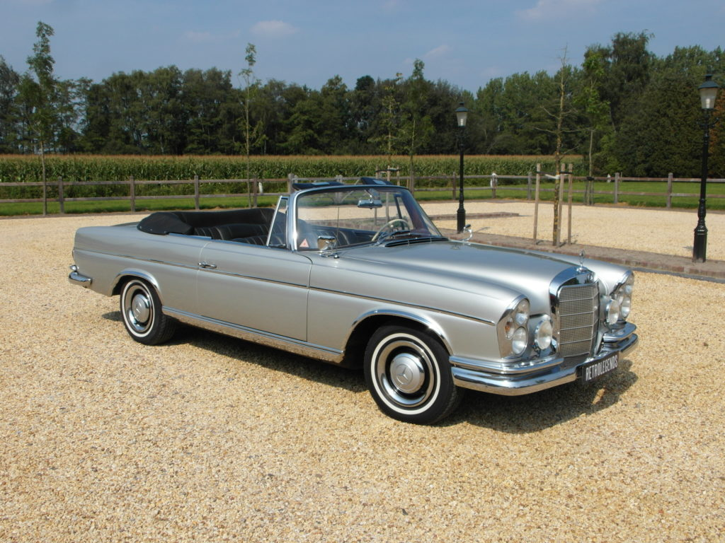 Mercedes-Benz 300 SE     SOLD     convertible, lhd, 1965