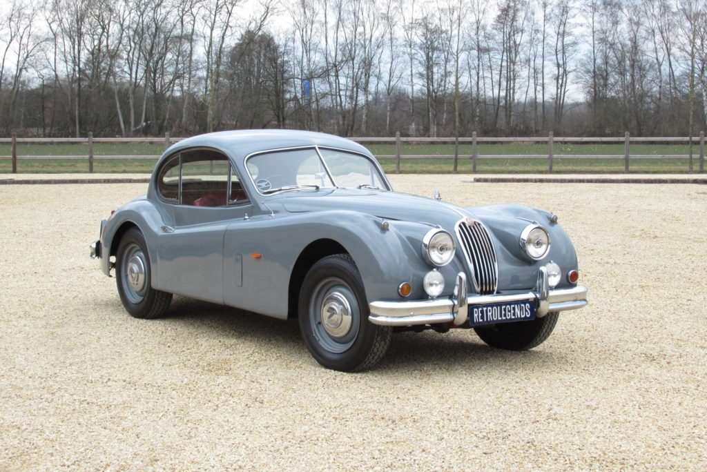 Jaguar     SOLD     XK140 FHC 1956, rhd