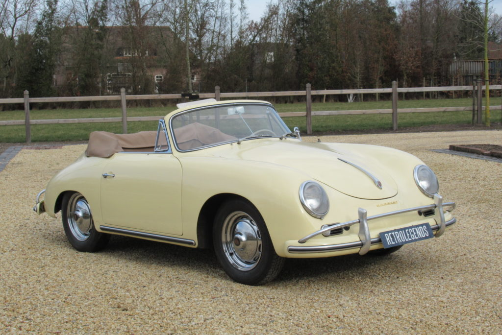 Porsche     SOLD    356A cabriolet 1600, 1958,  1600S engine