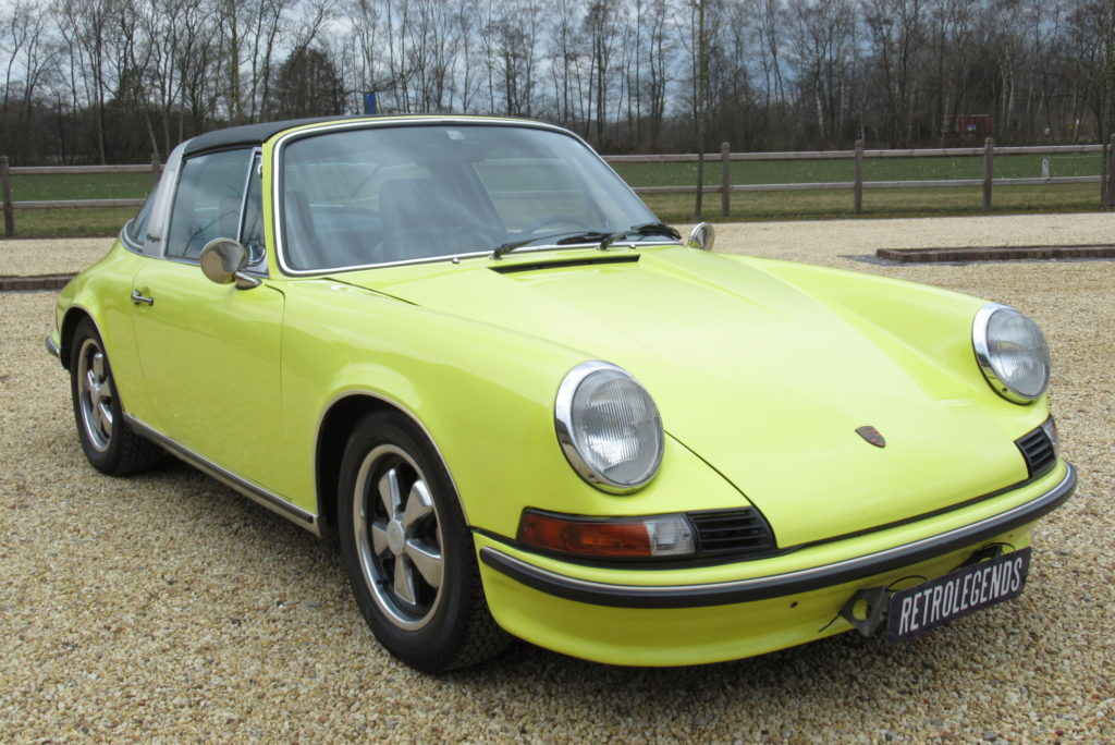 Porsche     SOLD     911E Targa Injection,  1973
