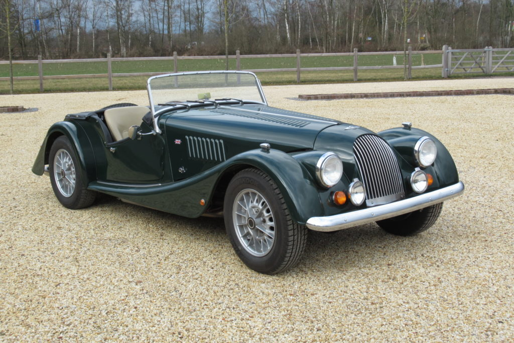 Morgan     SOLD     Plus 8, 2 seater, V8, 1975, rhd
