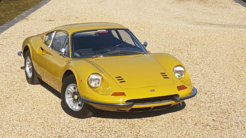 Ferrari     SOLD     DINO 246 GT / M,  1970