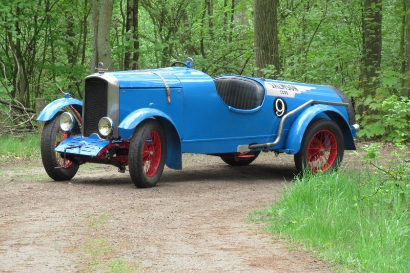 1926年 サルムソン S4 2人乗レーサー
