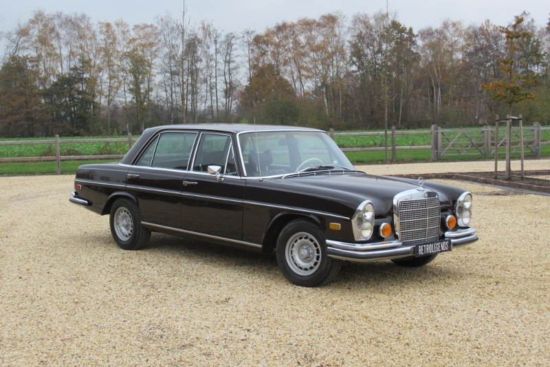 Mercedes-Benz     SOLD     280SEL 4.5, V8, automatic 1973