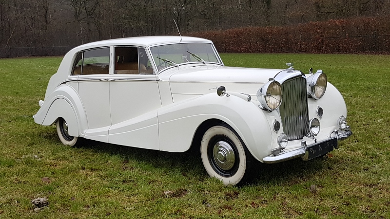Bentley MK VI Mulliner Sport Saloon 1951,    € 49.500,-