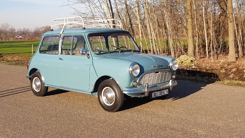 Morris Mini Minor MK I 850, lhd 1960,     € 19.900,-