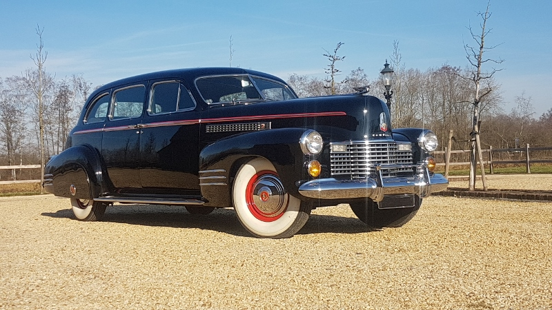 Cadillac 75 Imperial Fleetwood limousine 7p 1941  € 59.000,-