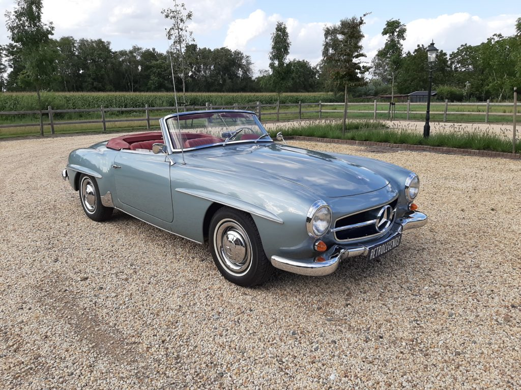 Mercedes-Benz 190 SL , Roadster,   1961,  € 129.000,-