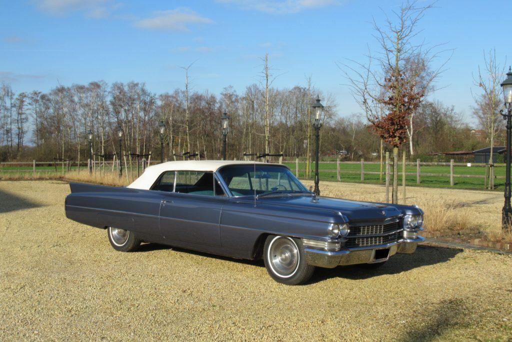 Cadillac convertible series 62, 1963,  lhd, € 37.500,-