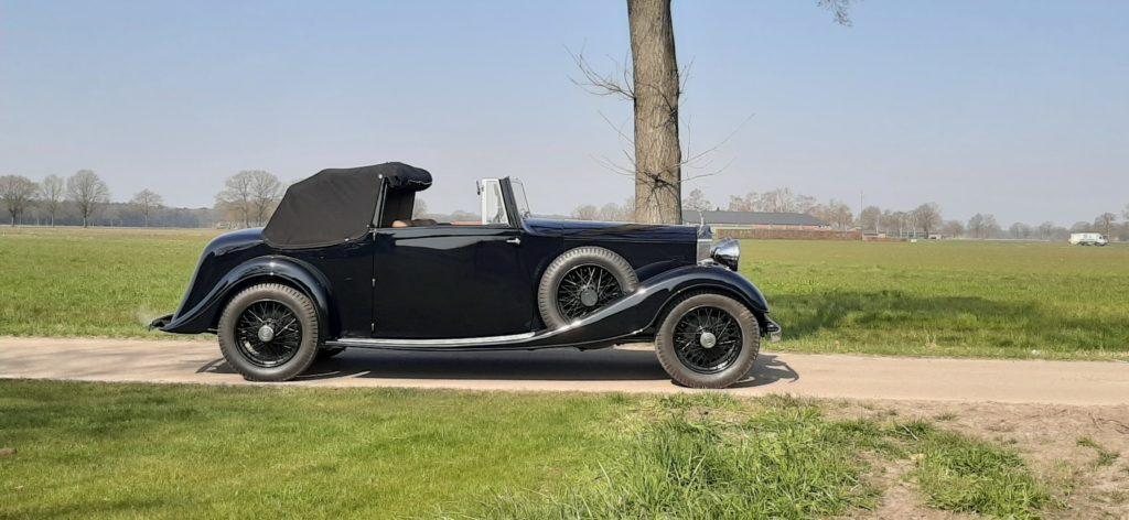 Rolls-Royce 20/25 3 position DHC 1933 rhd