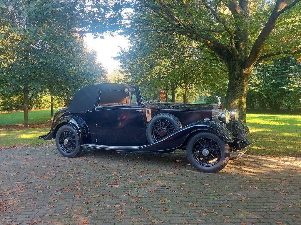 Rolls-Royce 20/25 3 position DHC VandenPlas style, 1933 rhd
