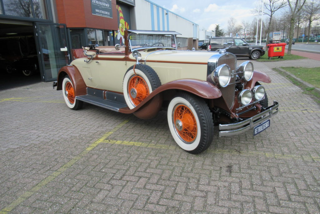 Cadillac 341A convertible coupé 1928, V8, lhd