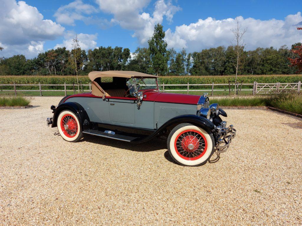 Buick model 24 Roadster, 1928,  rhd,  € 69.000,-